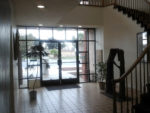 Looking out from Lobby